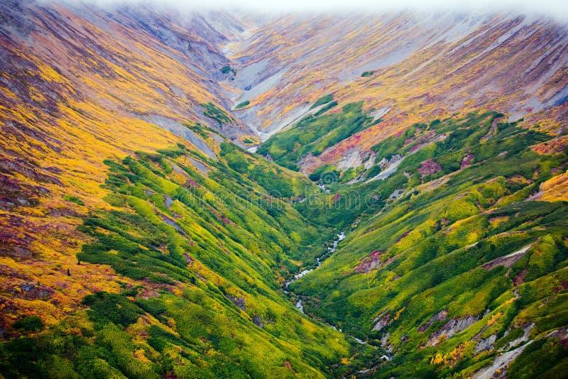 克鲁瓦尼国家公园及保留地、谷和Montainsde视图 免版税库存照片