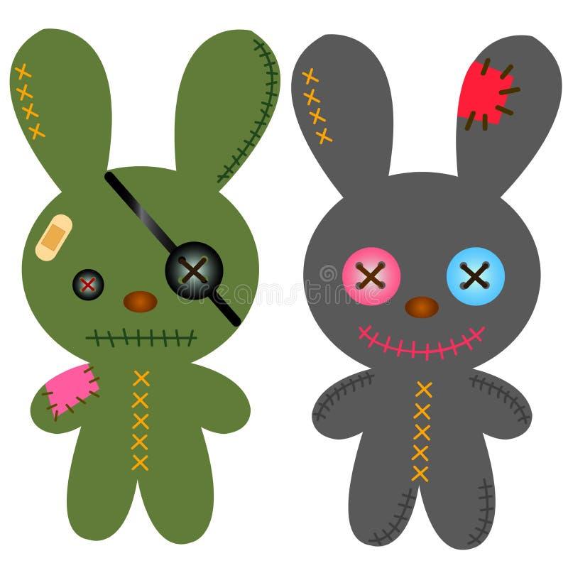 兔子汇集 库存图片
