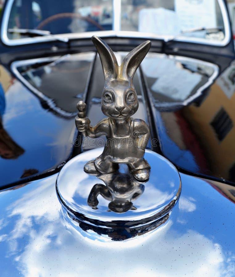 兔子汽车 图库摄影