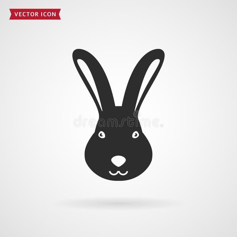 兔子象 向量例证
