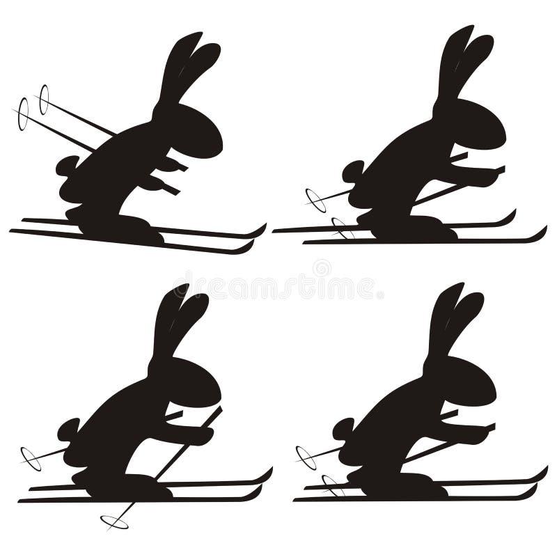 兔子 库存例证