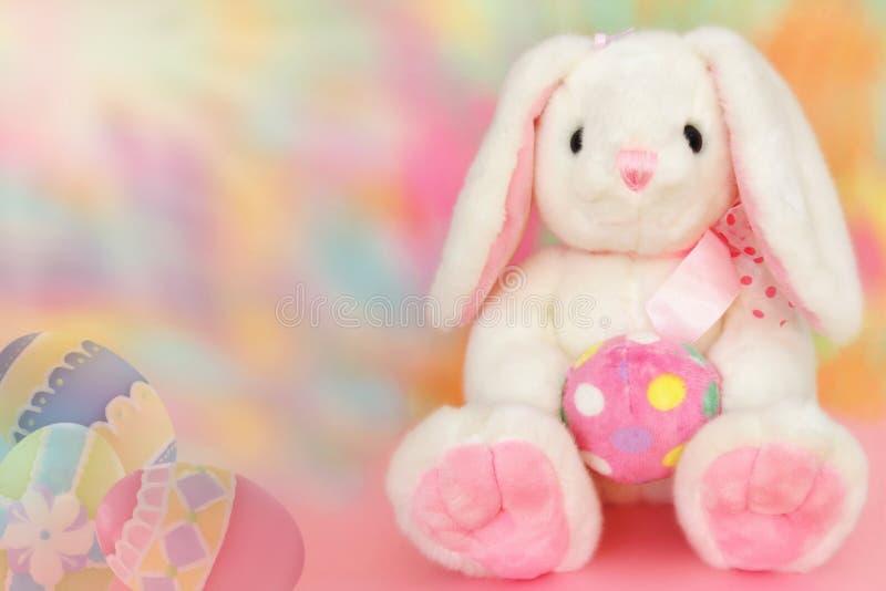 兔宝宝复活节甜点 免版税库存图片