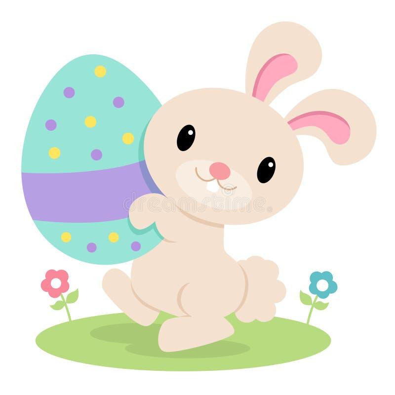 兔宝宝复活节 向量例证