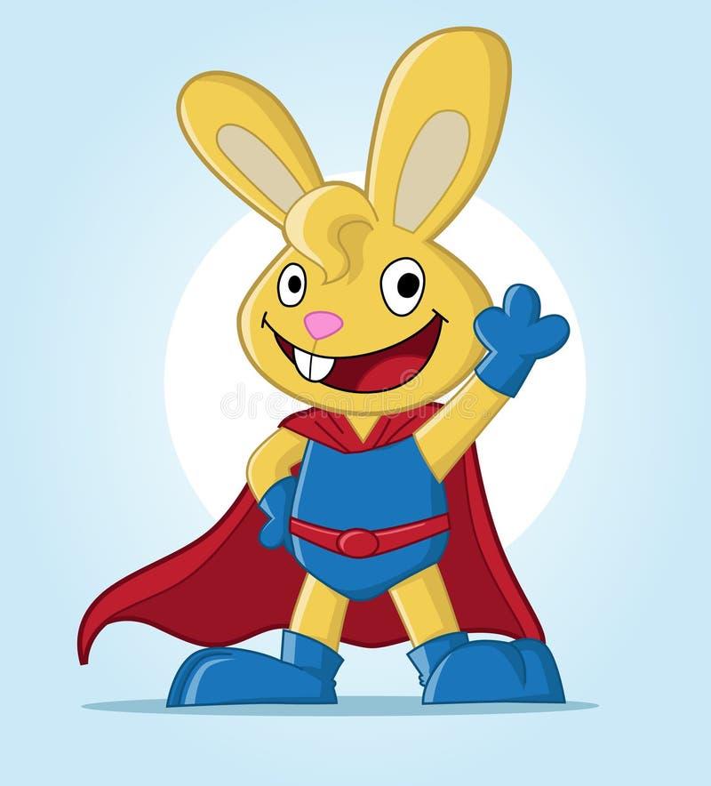 兔宝宝超级通知 免版税库存图片