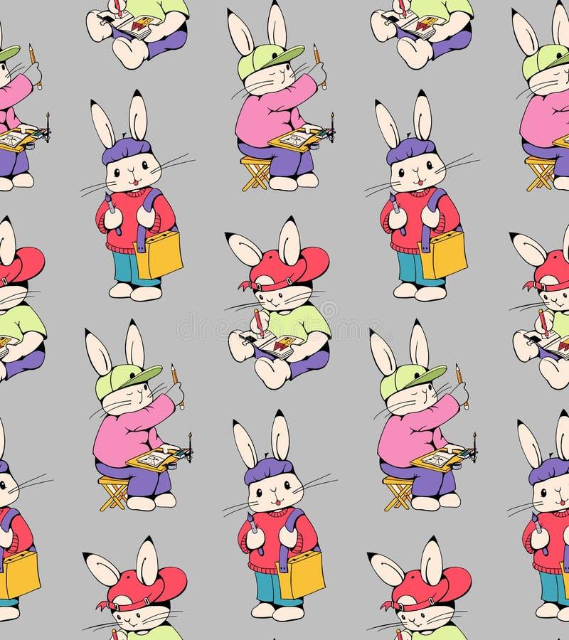 兔宝宝 库存例证