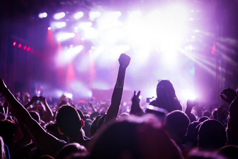 党人的图片音乐节的 图库摄影