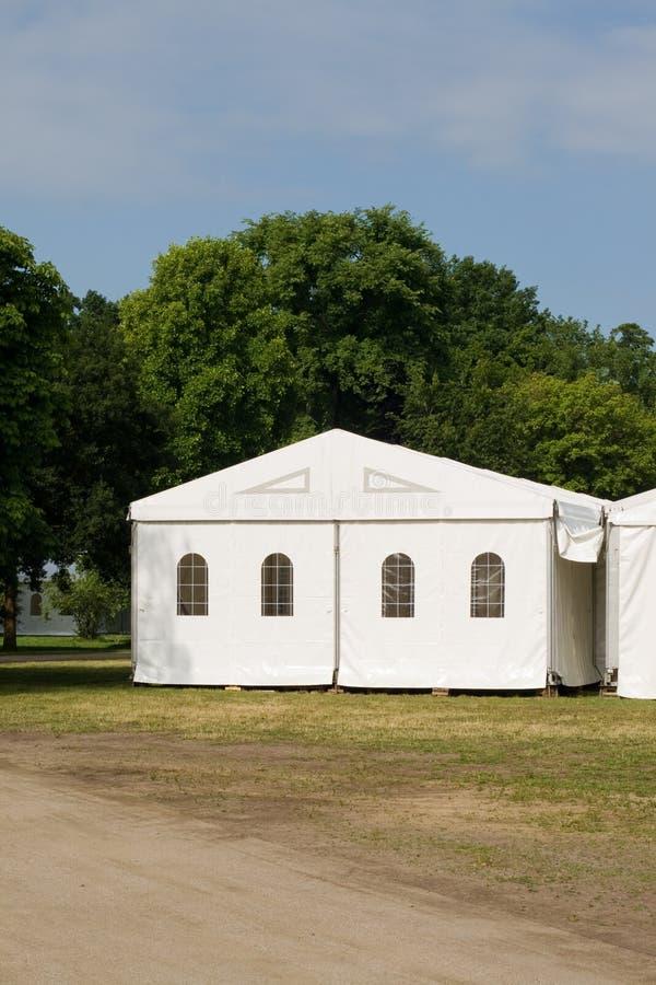 党或事件帐篷 库存照片