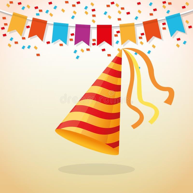 Download 党设计 庆祝象 Colorfull例证,传染媒介 向量例证. 插画 包括有 俱乐部, 生活方式, 生日, 例证 - 72372580