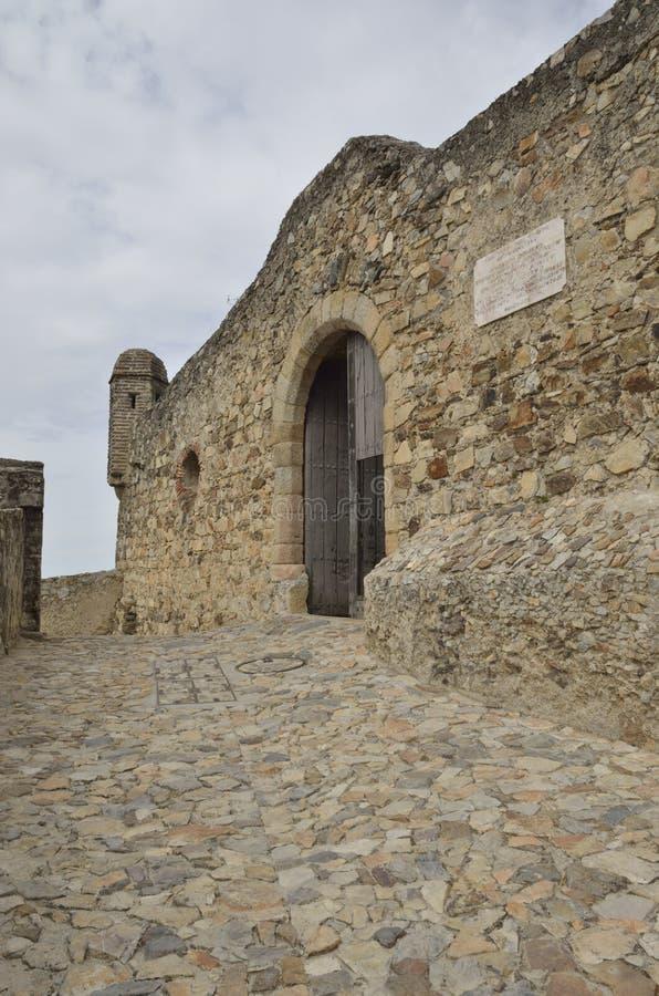 入口城堡 免版税库存照片