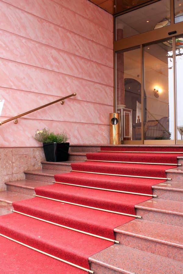 入口旅馆 免版税库存照片