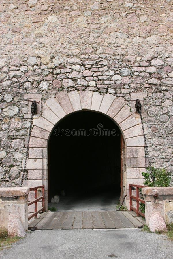 入口秘密 库存图片