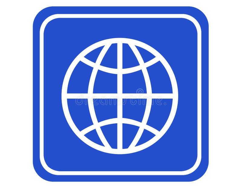 全世界图标 皇族释放例证