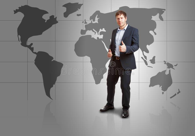 全世界成功 免版税库存照片