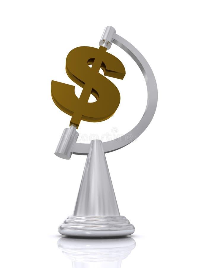全世界美国的美元 向量例证