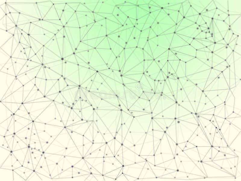 全世界连接-互联网-商务联系 向量例证
