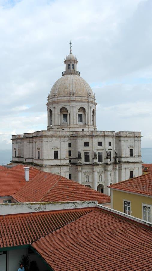 全国万神殿,里斯本,葡萄牙 免版税库存照片