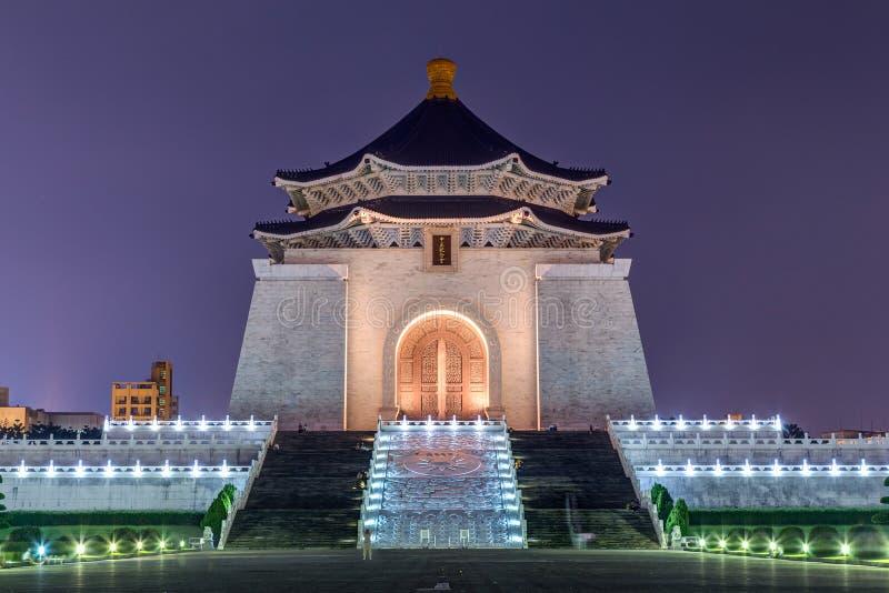 全国中正纪念堂在台北,台湾 免版税图库摄影
