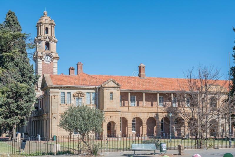 全国南非荷兰语和梭托人文艺博物馆在布隆方丹 库存照片