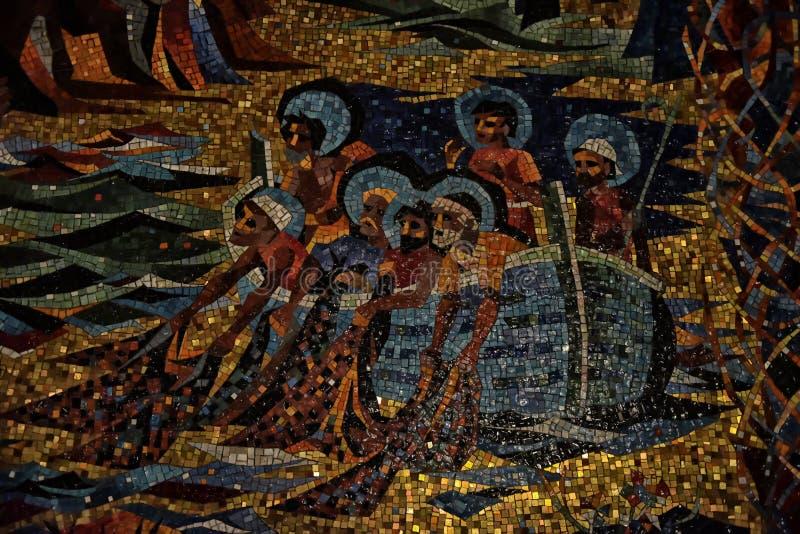 全国大教堂华盛顿马赛克 免版税图库摄影