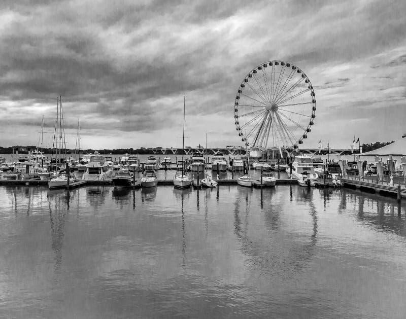全国港口 免版税图库摄影