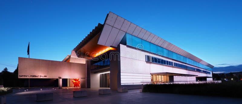 全国画象画廊,堪培拉 库存照片