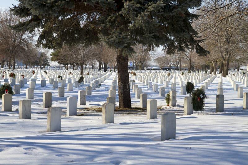 全国纪念军事公墓 库存图片