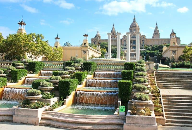 全国美术馆在巴塞罗那 免版税图库摄影
