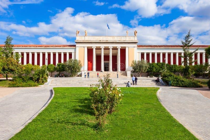 全国考古学博物馆,雅典 图库摄影