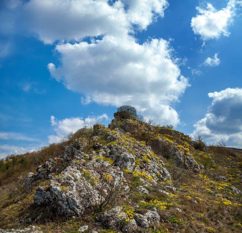 全国自然公园Podilski Tovtry 免版税库存照片