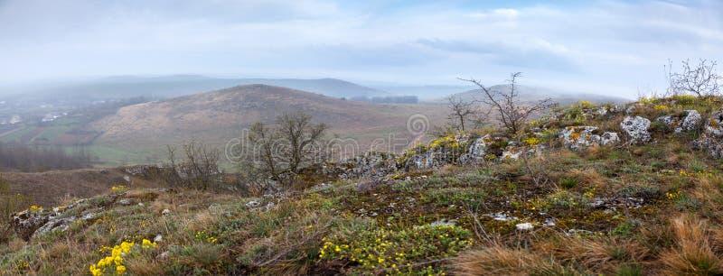 全国自然公园Podilski Tovtry 图库摄影