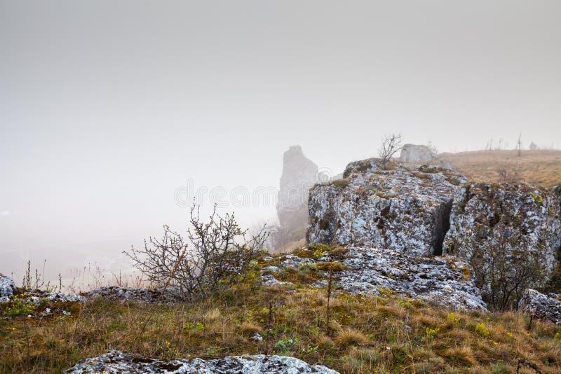 全国自然公园Podilski Tovtry 免版税库存图片