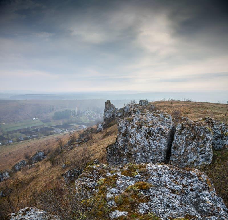 全国自然公园Podilski Tovtry 免版税图库摄影