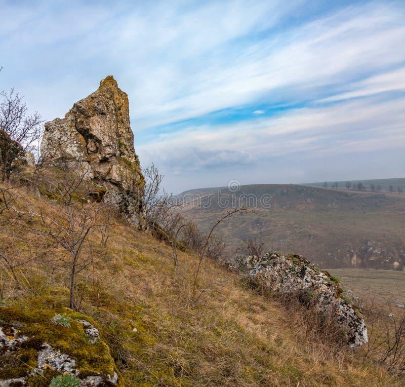 全国自然公园Podilski Tovtry 库存图片
