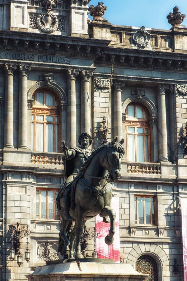 全国艺术馆墨西哥城  免版税库存图片