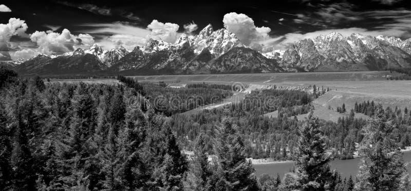全国越野障碍赛马公园teton美国 库存照片
