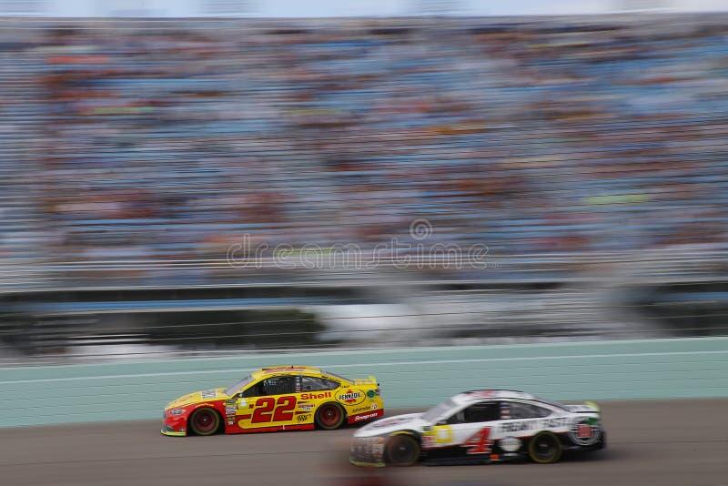 全国运动汽车竞赛协会:400 11月18日福特 免版税库存图片