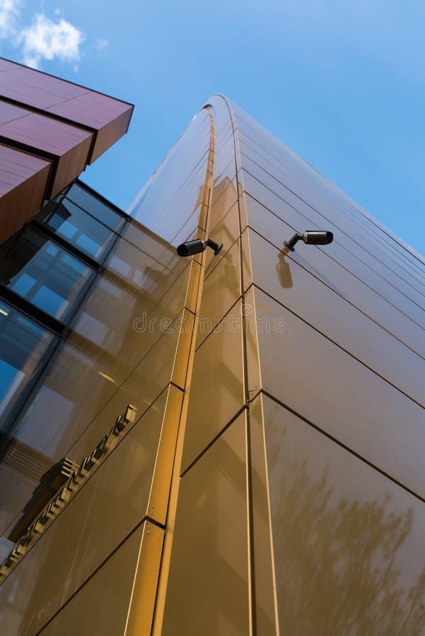 全国音乐论坛大厦在弗罗茨瓦夫 免版税库存照片