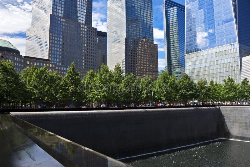 全国9月11日纪念品,纽约 免版税库存图片