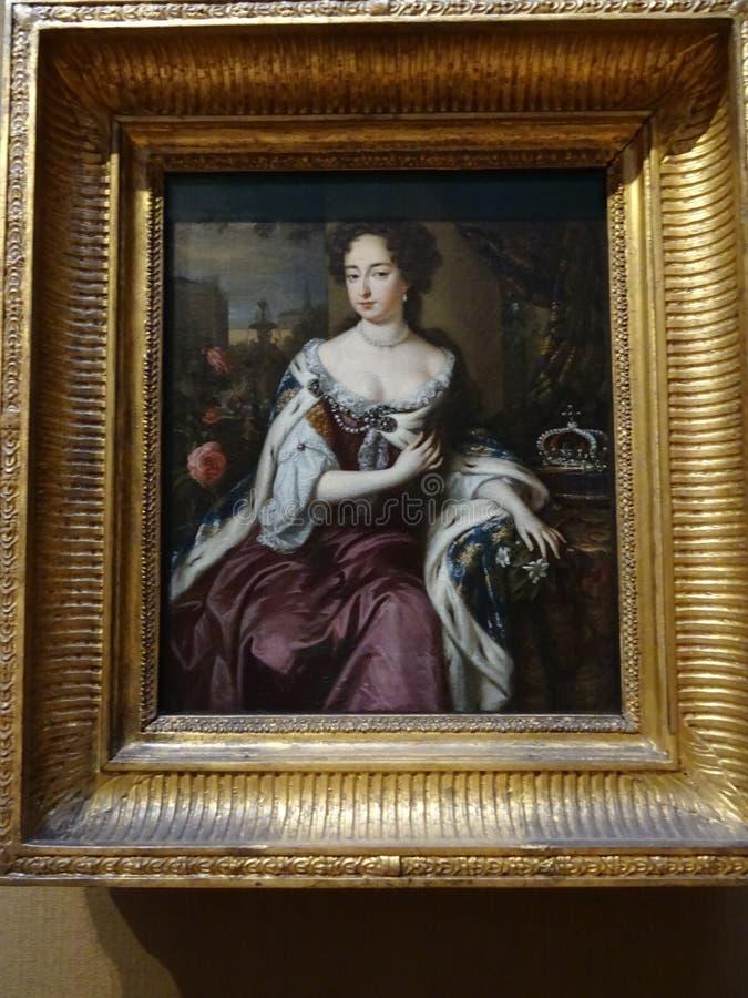全国画象画廊:玛丽皇后2 库存图片