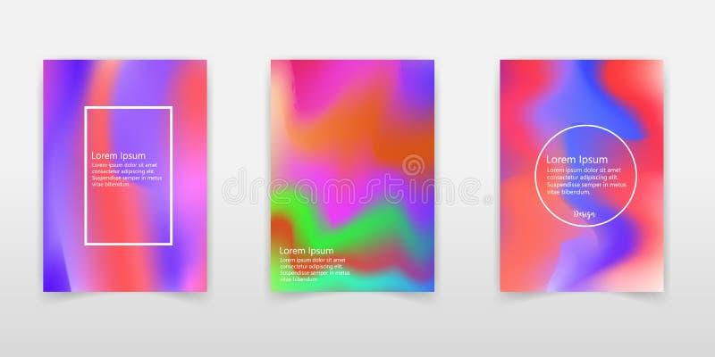 全息照相的箔 非常美好的彩虹纹理 美妙的不可思议的背景 幻想五颜六色的卡片 呈虹彩艺术 时髦有魄力 皇族释放例证