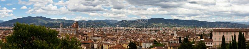 全景佛罗伦萨,佛罗伦萨, Toscany,意大利 免版税库存照片