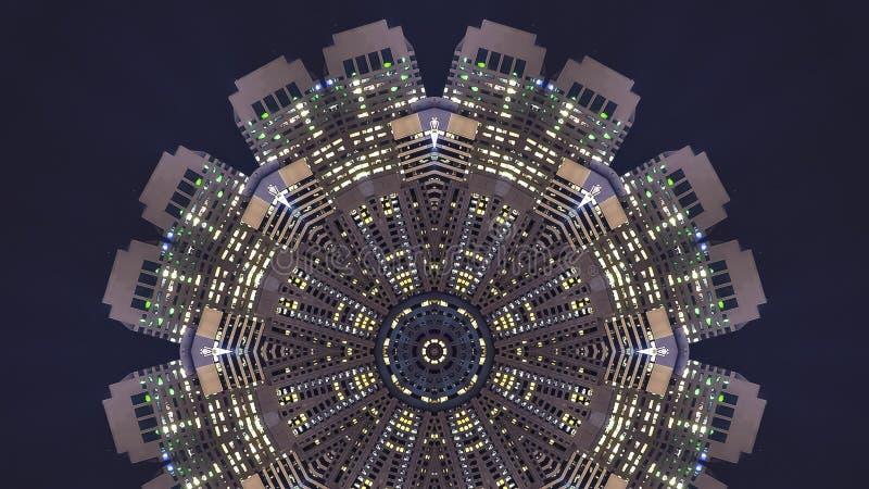 全景旧金山框架照片把变成设计样式 库存例证