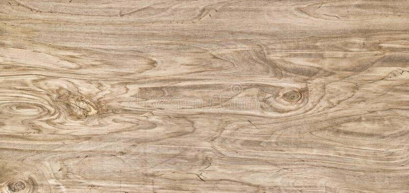 全景木背景 轻的木纹理特写镜头 板条t 免版税库存照片