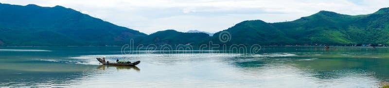 全景海视图越南 库存照片
