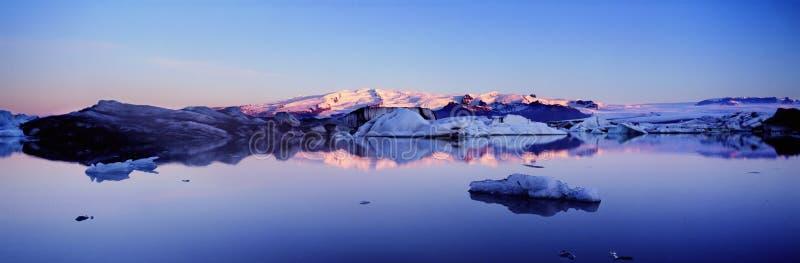 全景的冰岛 库存照片