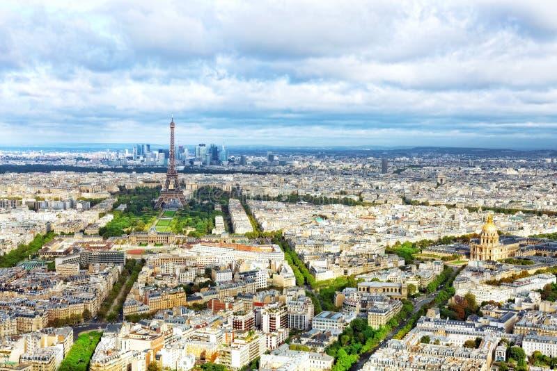 巴黎全景  免版税图库摄影