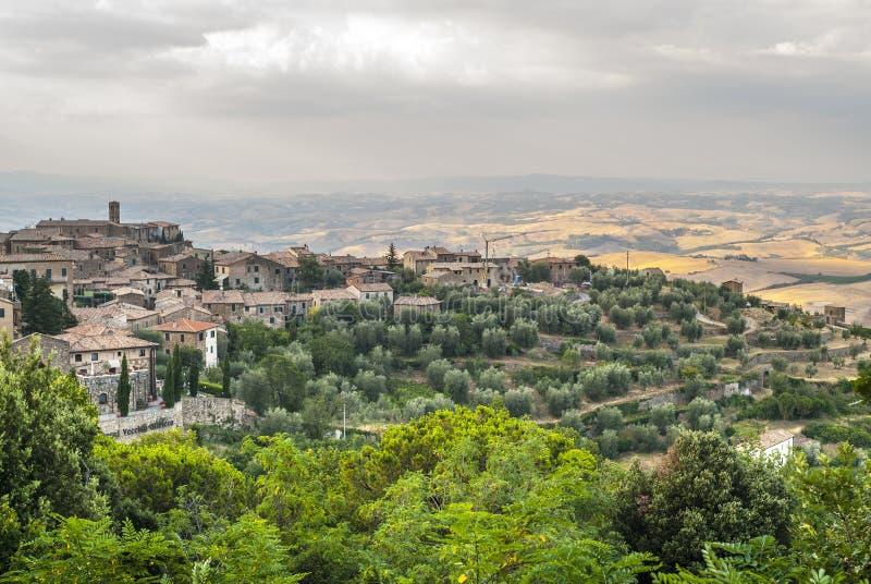 Montalcino (托斯卡纳) 免版税图库摄影