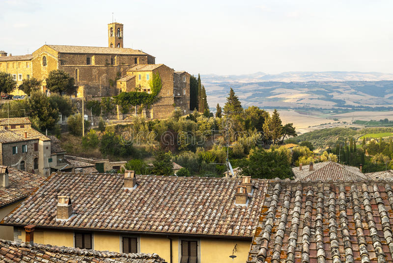 Montalcino (托斯卡纳) 免版税库存照片