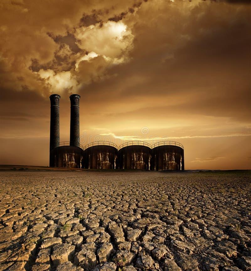 全球主题温暖 免版税库存图片