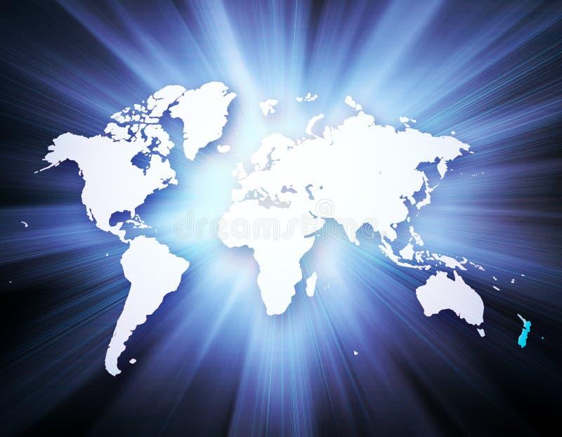 全球企业的概念从概念系列的 库存例证